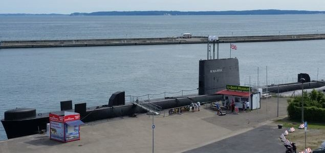 HMS Otus – the submarine in Sassnitz