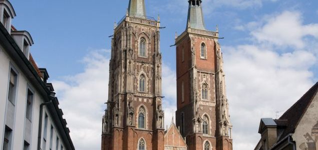 Viewpoint at Wrocław Cathedral