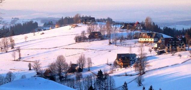 Skiing in Gliczarow