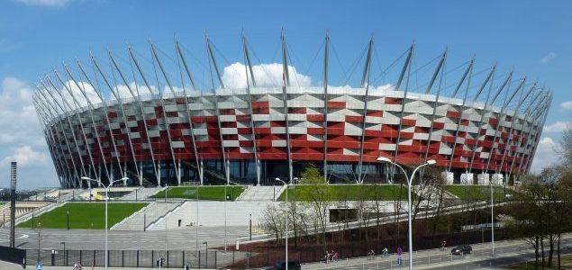 Exploring National Stadium in Warsaw